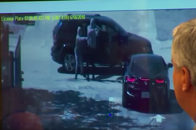 Moment XXXtentacion was murdered captured by surveillance cameras