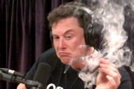 Watch Elon Musk Smoke a Blunt With Joe Rogan