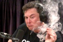 Elon Musk Smoke His First Blunt on The Joe Rogan Experience