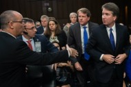 Trump SCOTUS Pick Refuses Handshake From Father of Parkland Victim