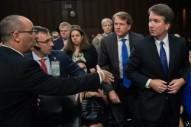 Trump SCOTUS Pick Refuses Handshake From Father of Parkland Victim