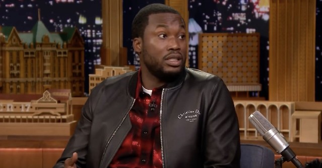 meek mill performs on Fallon