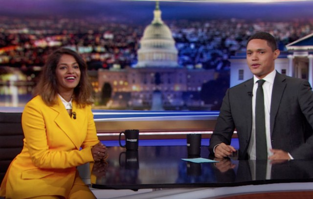 M.I.A. Appears on 'The Daily Show with Trevor Noah'