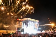 Odesza Firework Fires Into Life Is Beautiful Crowd