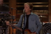 paul mccartney fallon performance, interview