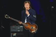 "paul mccartney ""back in brazil"" video"