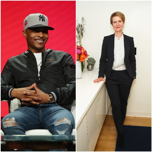ti endorses cynthia nixon, doesn't know her