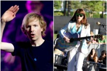 "beck & jenny lewiscovers neil young's ""harvest moon"""