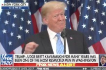 Trump Implies George Washington Was a Rapist at Press Conference