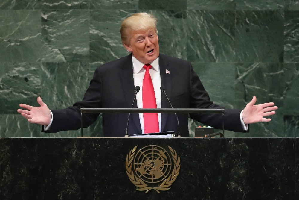 Trump Laughed at During UN General Assembly Address
