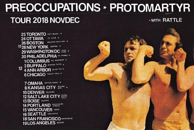 Protomartyr And Preoccupations Announce Joint North