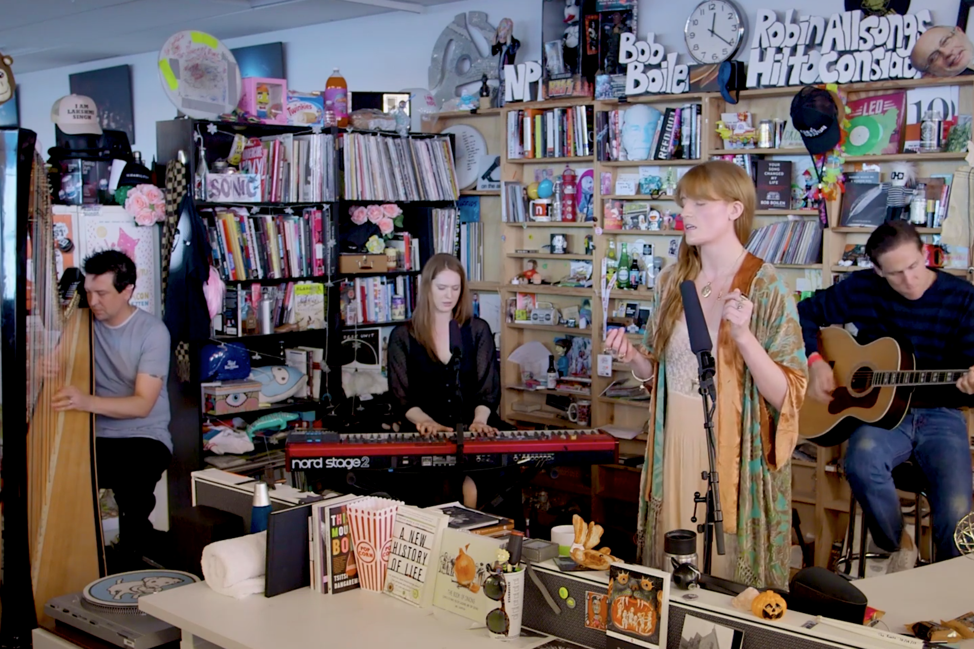 Florence + The Machine Tiny Desk Concert