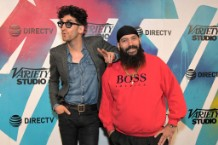Chromeo at a DIRECTV event.