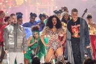 "Cardi B Performs ""I Like It"" With J Balvin and Bad Bunny at 2018 AMAs"