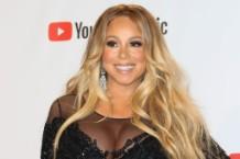 Mariah Carey at the 2018 American Music Awards.