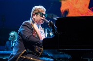 "Elton John Honors Aretha Franklin With Detroit Performance of ""Border Song"""