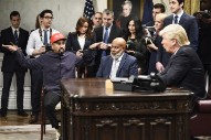 Watch <i>SNL</i> Recreate Kanye West's Insane White House Meeting With Trump