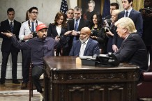 kanye-west-snl-recreates-donald-trump-white-house-meeting-watch