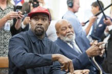 """875a2b9c2cb8 Kanye West Designs Shirts for Candice Owens' """"Blexit"""" Campaign Encouraging  a """"Black Exit"""" From the Democratic Party"""