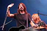Dave Grohl Brings Blind Boy On Stage During Foo Fighters Performance