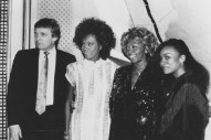 Today We Learned Donald Trump and Whitney Houston Were Friends