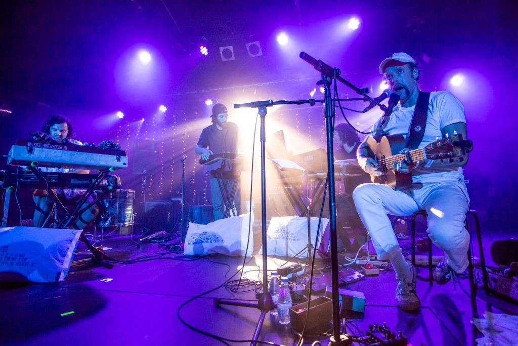 Bonnie 'Prince' Billy Performs at Concert in Barcelona.