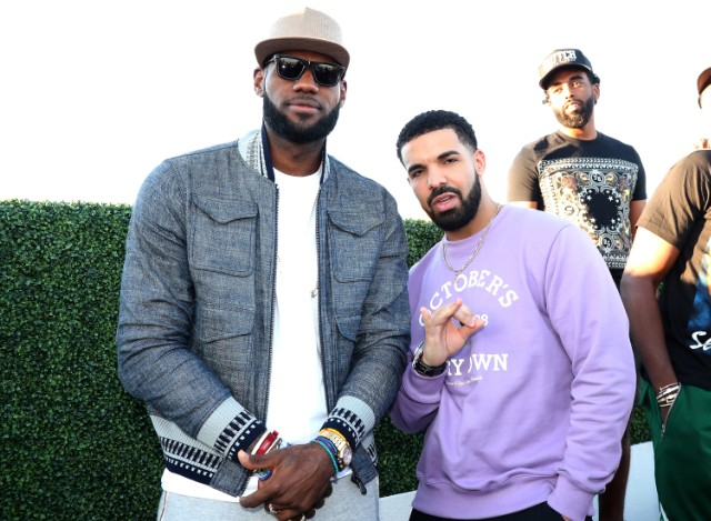 685ded1397ece Drake Brings Out LeBron James and Travis Scott to Perform