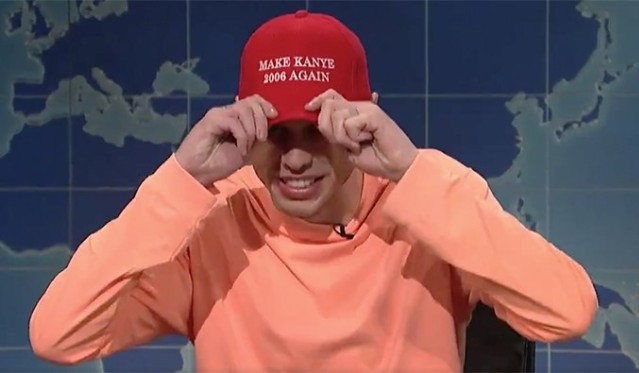 pete-davidson-kanye-west-post-snl-political-speech-wheres-the-album