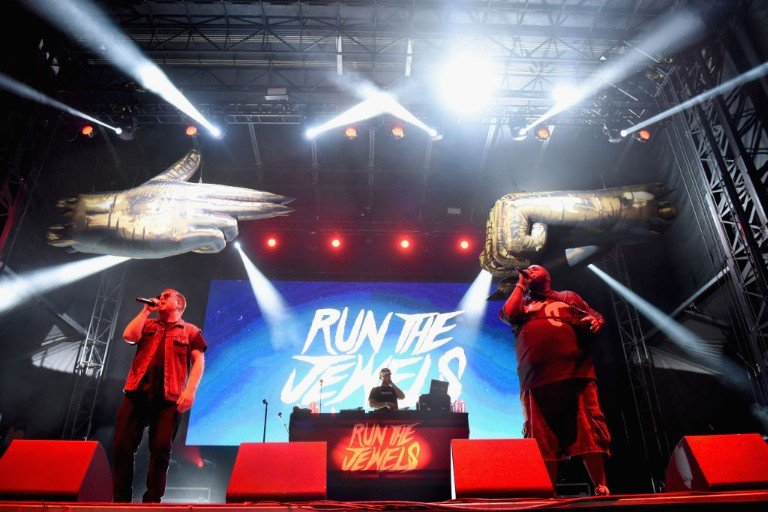 Run the Jewels Performing at the Adult Swim Festival 2018