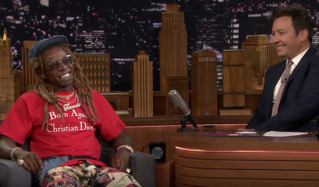 Lil Wayne Jimmy Fallon Tonight Show Interview Performance Tha Carter V