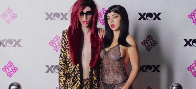 Charli XCX and Troye Sivan in