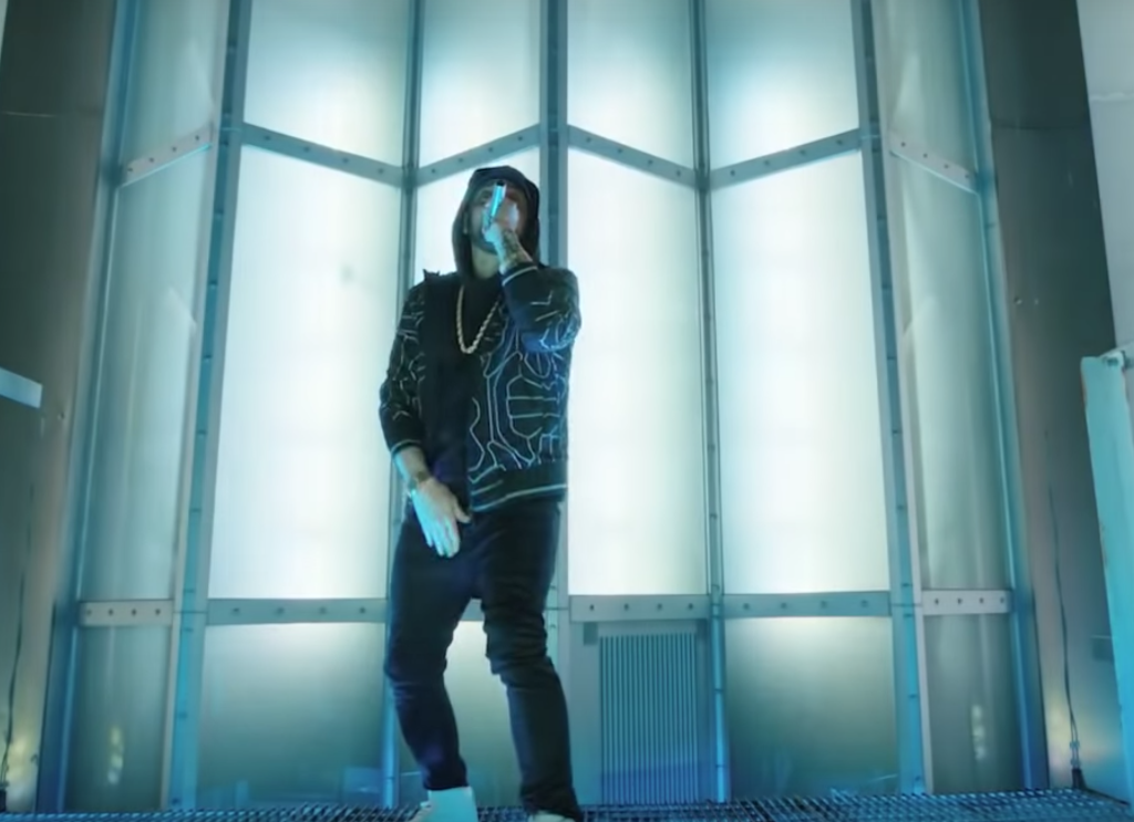 Eminem Performed 'Venom' on the Empire State Building: Watch