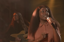 Noname Performs on Colbert