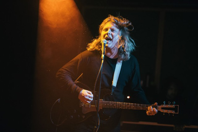Ty Segall performing in Birmingham, Alabama.