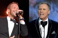 """Watch Coldplay's Chris Martin Perform """"Viva La Vida"""" With Will Ferrell on Cowbell"""