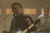 Watch Arctic Monkeys Perform &#8220;One Point Perspective&#8221; on <i>Corden</i>
