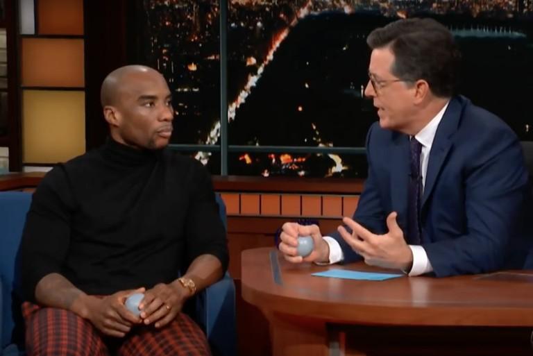 Charlemagne tha God Discusses Canceled Kanye TimesTalk with Stephen Colbert