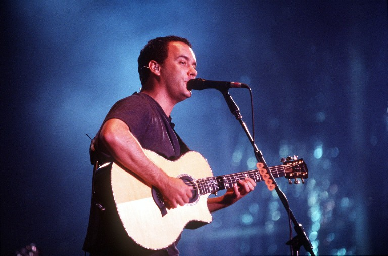Dave Matthews Band Plays the First-Ever Concert at Pacific Bell Park in San Francisco, 2001