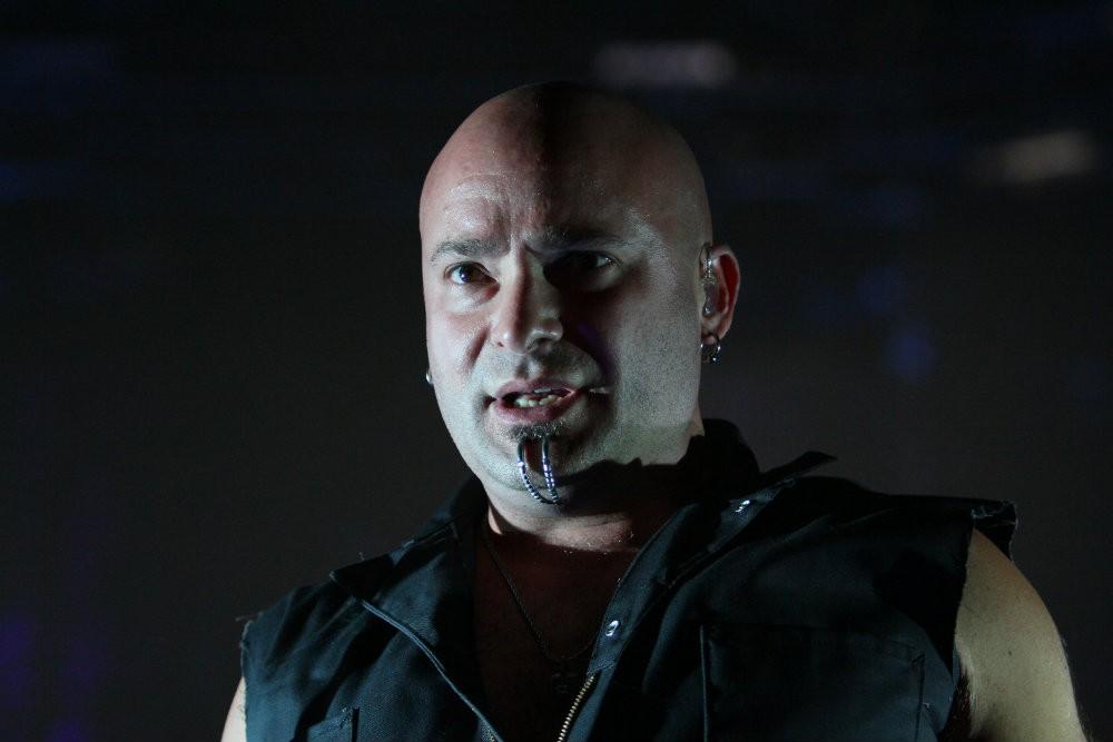 Disturbed Singer Removes Chin Piercing