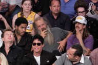 A Photographic History of Anthony Kiedis and Random Celebs at Lakers Games