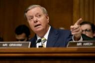 Watch Lindsey Graham Get Booed for Defending Brett Kavanaugh