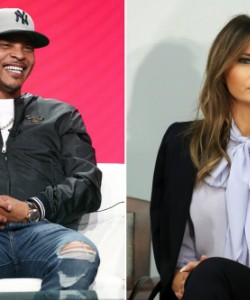 The White House Is Mad About T.I.'s Melania Trump Lookalike Strip Tease Video