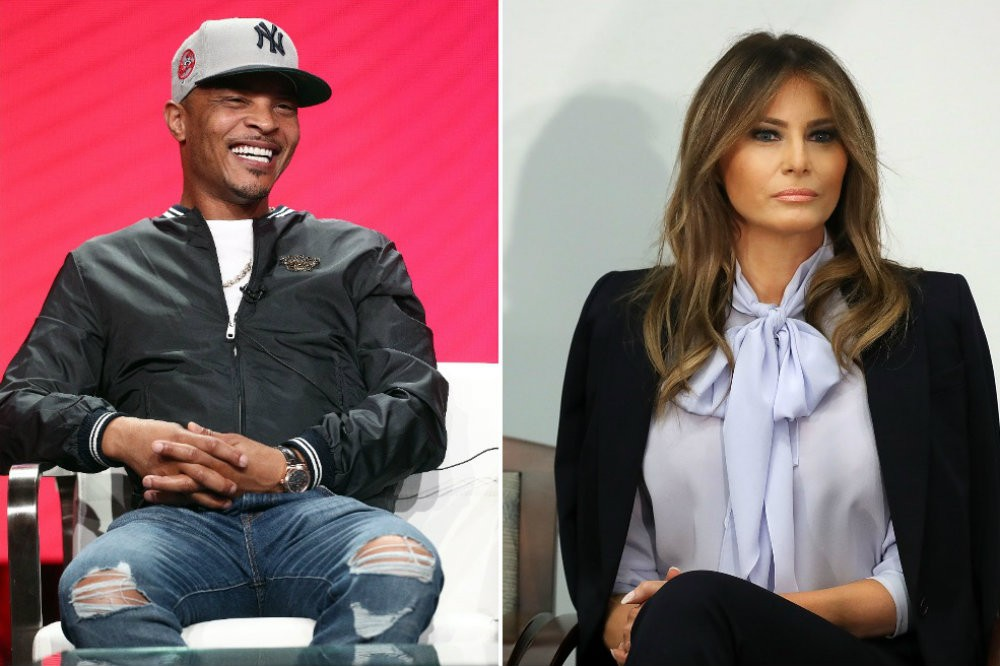 T.I.'s Melania Trump Lookalike Strip Tease Video Angers White House | SPIN