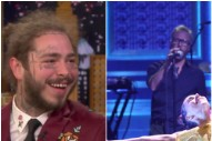 Watch Post Malone Interview, The National Performance on <i>Fallon</i>
