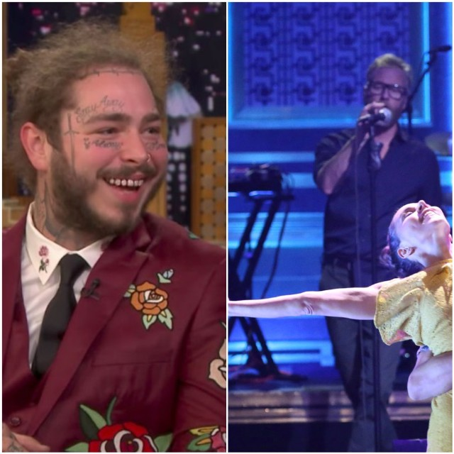 Watch Post Malone Interview, The National Performance on