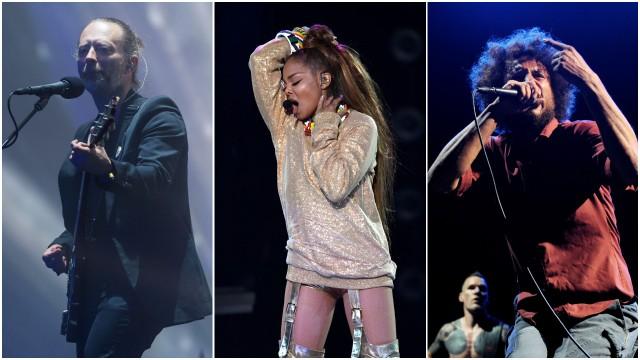 Rock & Rock Hall of Fame 2019 Radiohead Janet Jackson Rage Against the Machine