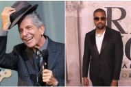 "Leonard Cohen Wrote a Poem Called ""Kanye West Is Not Picasso"""