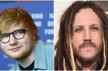 Ed Sheeran Korn Marilyn Manson Head Munky