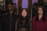 Watch Travis Scott's <i>SNL</i> Promos with Awkwafina