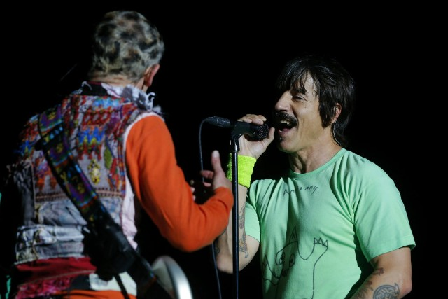 Red Hot Chili Peppers Perform at Chad Smith's Son's School for Halloween